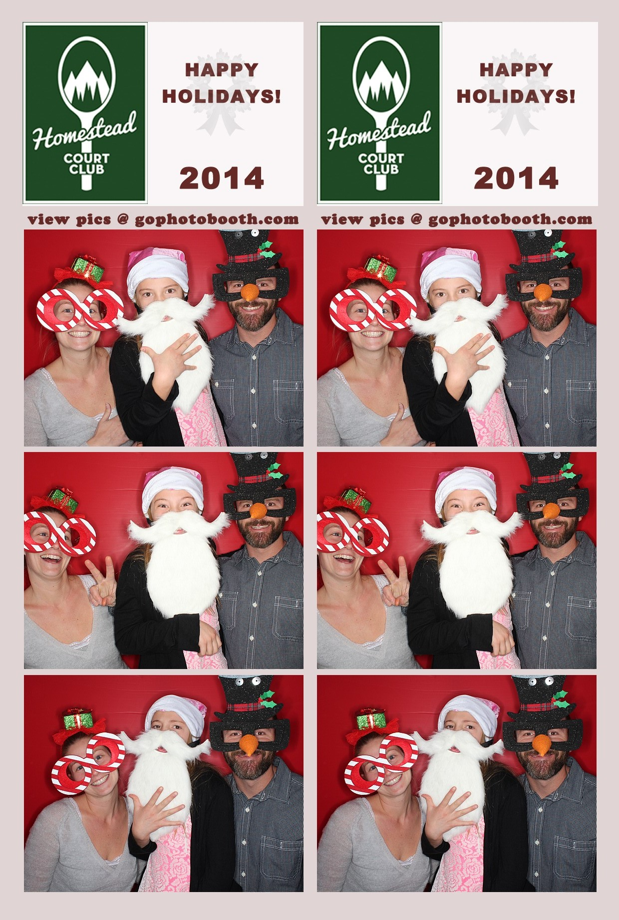 Homestead Holiday Party, Edwards CO 12/07/14