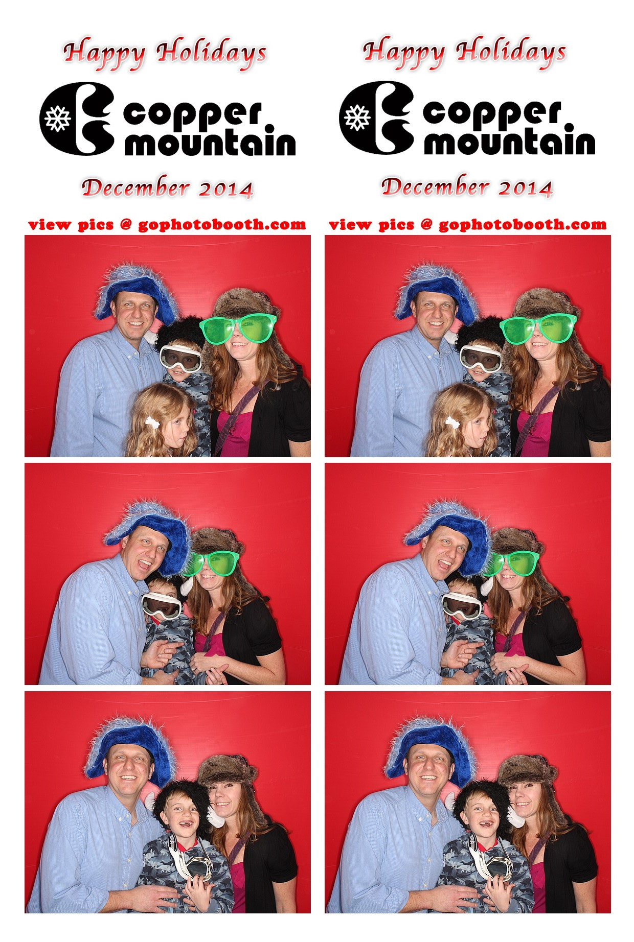 Copper Mountain Employee Holiday Party 12/9/2014