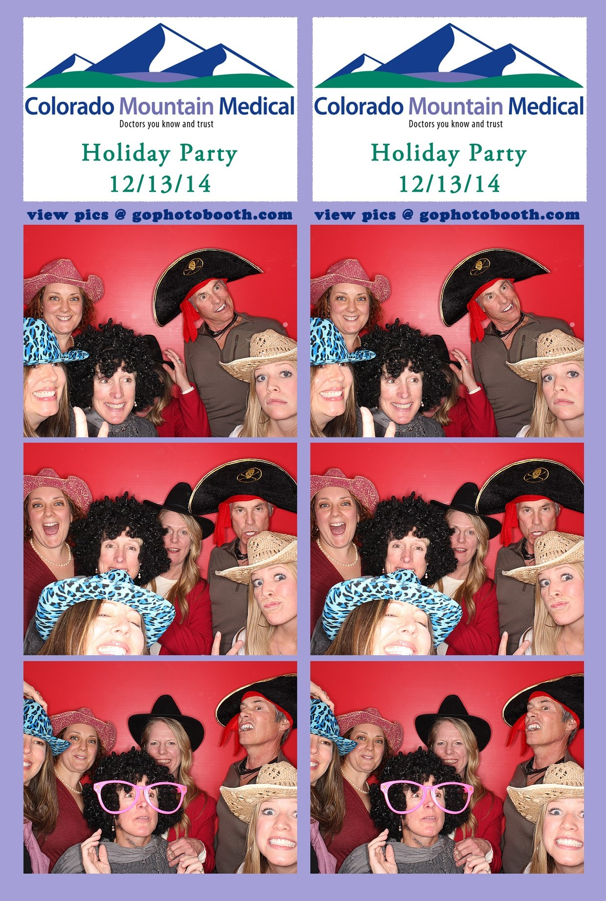 CMM Holiday Employee Party 12/13/14