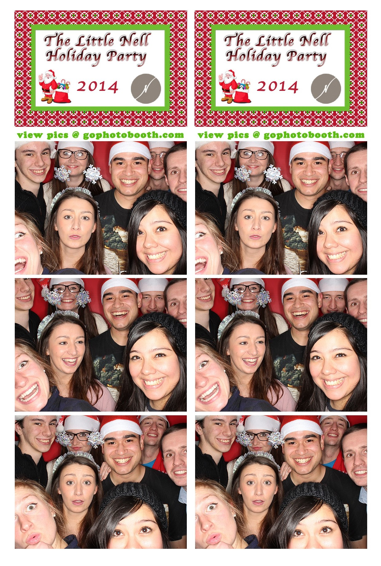 The Little Nell Holiday Employee Party 12/15/14