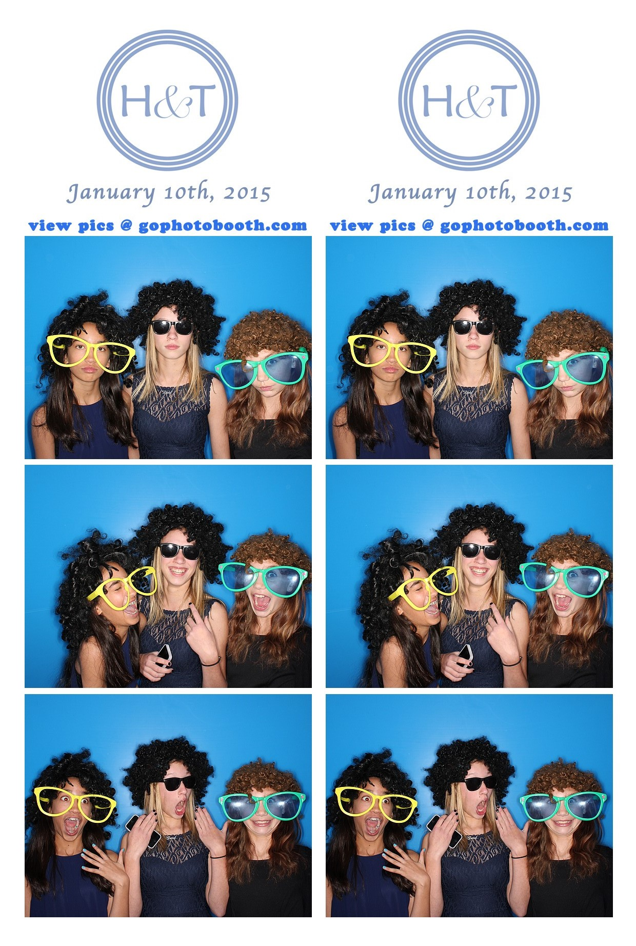 H&T B'not Mitzvah party