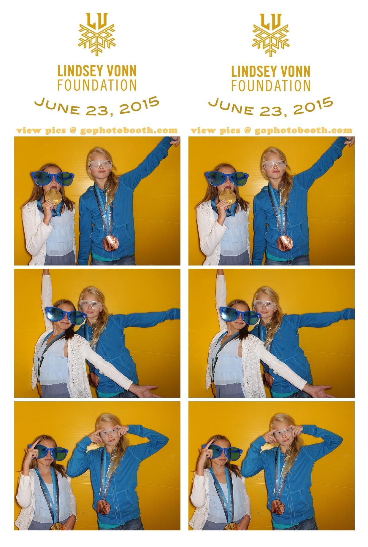 Lindsey Vonn Foundation, Vail 06/23/15