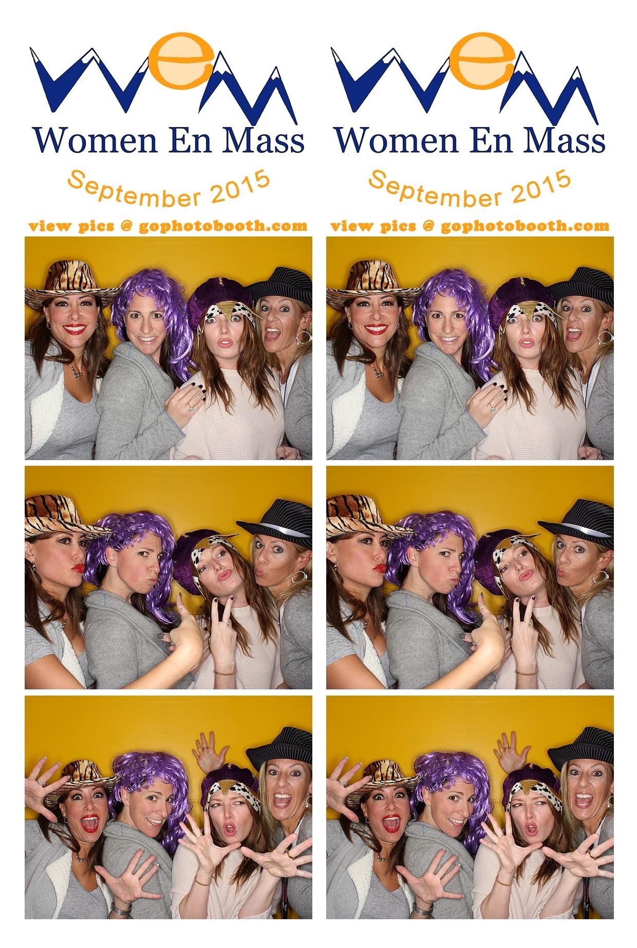 WEM St. Regis Aspen Photo Booth 9/29/15
