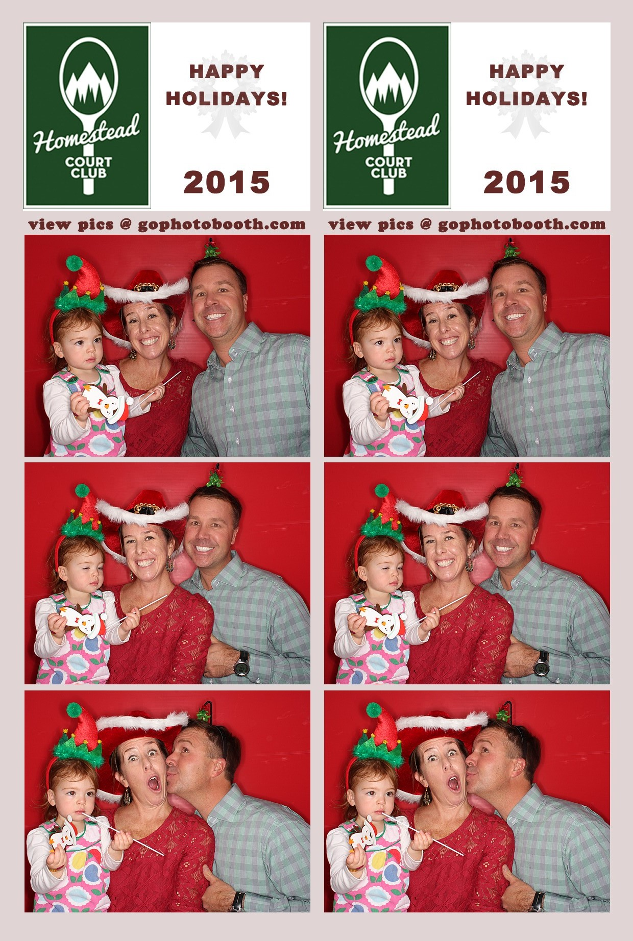 Homestead Court Club Holiday Party 12/06/2015