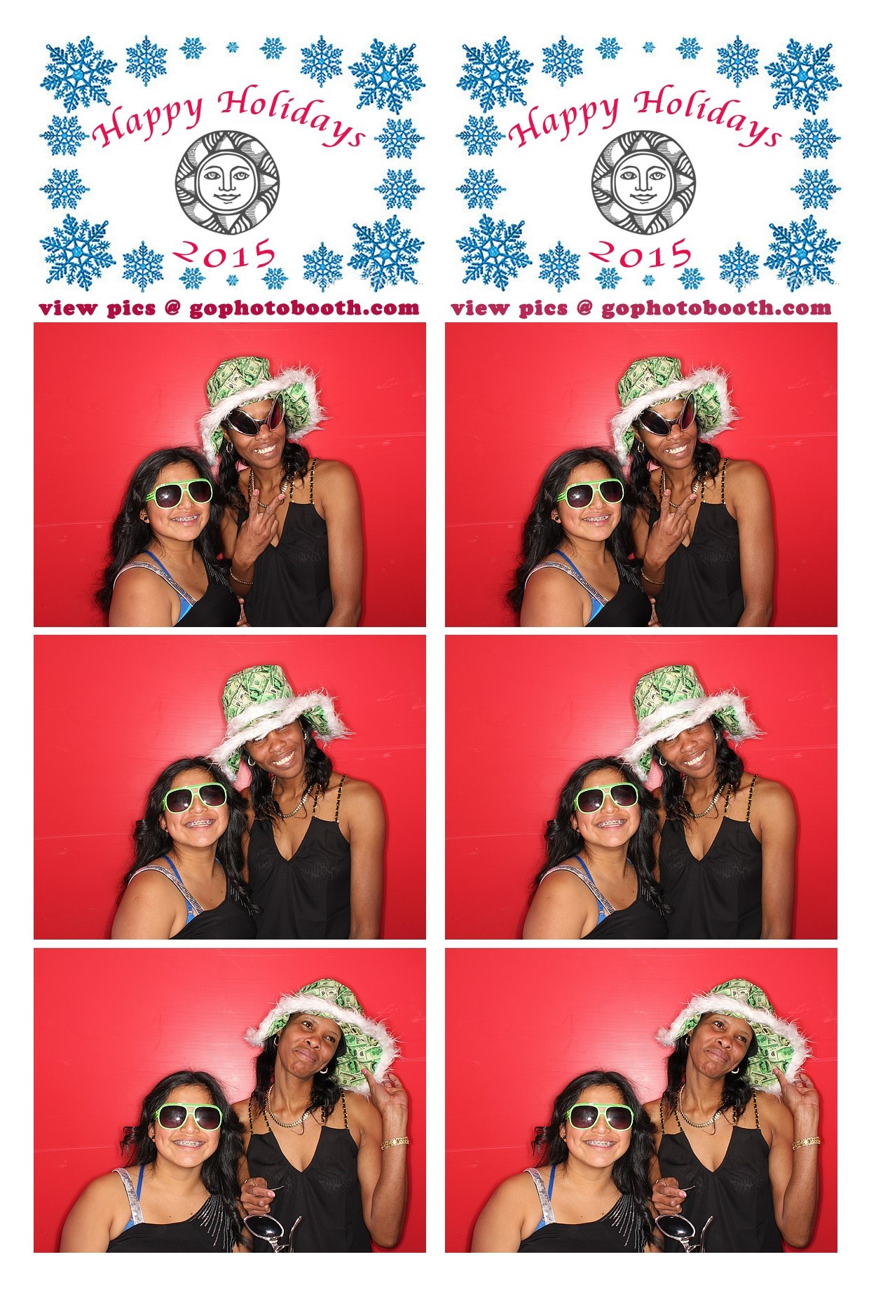 Sonnenalp Vail Photo Booth 12/14/15