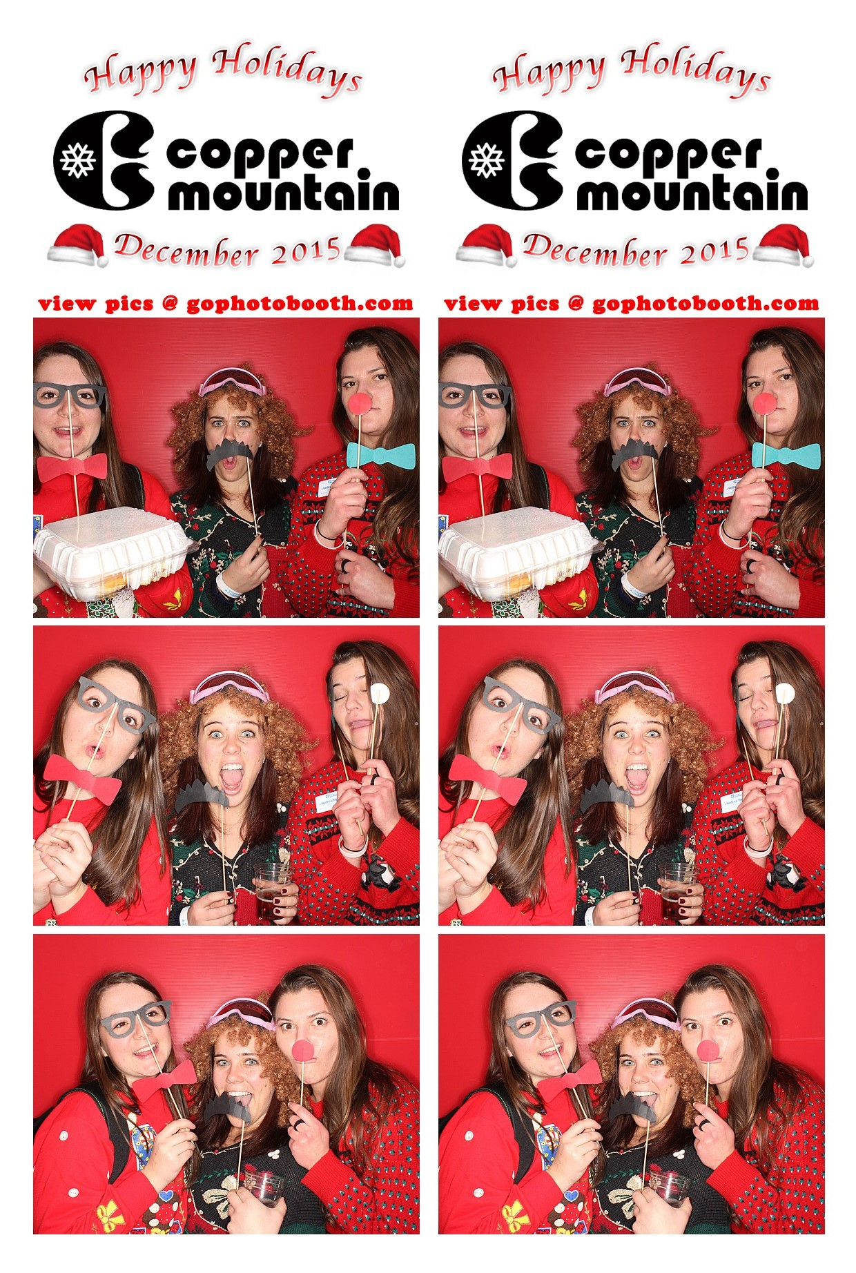 Copper Mountain Holiday Photo Booth 12/17/15